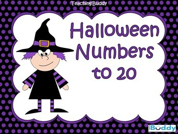 Halloween Numbers to 20