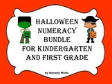 Halloween Numeracy Bundle for Kindergarten and First Grade