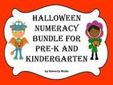 Halloween Numeracy Bundle for Pre-K and Kindergarten