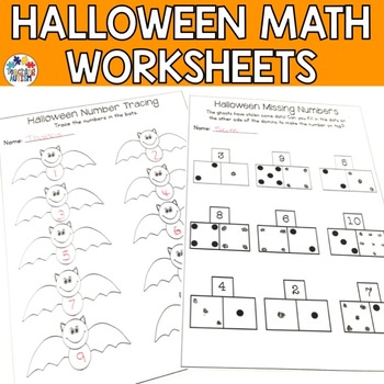 Halloween Math Worksheets
