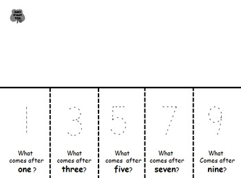Halloween Number Order Before and After