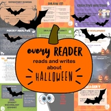Middle School Reading, Writing, Activities, & KAHOOT for Halloween!