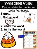 Halloween / October Read and Write the Room {Kindergarten}