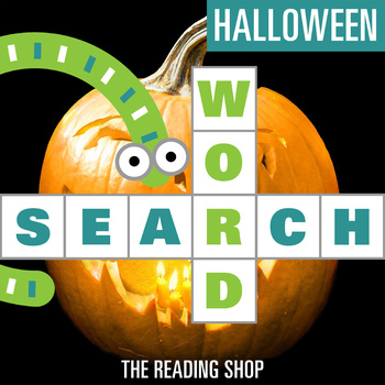 Halloween October Word Search - Primary Grades - Wordsearch Puzzle