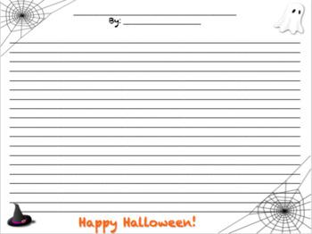 Halloween October Writing Bulletin Board Activity