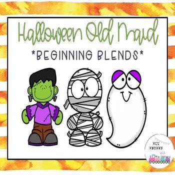 Halloween Old Maid Beginning Blends