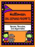 Halloween On-Demand Writing Prompts