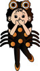 Halloween On My Mind Clip Art Growing Bundle