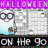 Halloween Literacy and Math Activities for Kindergarten