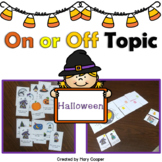 Teaching the Terms On or Off Topic: Halloween