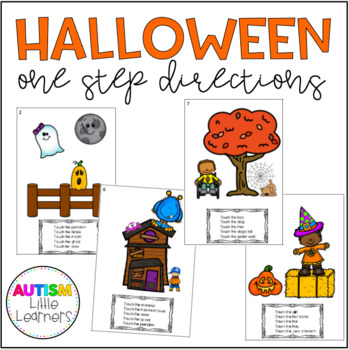 Halloween One Step Directions