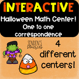 Halloween One to One Correspondence Centers!