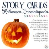 Story Cards: Halloween Onomatopoeia