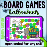 Halloween Open Ended Board Games    BOOM CARDS™