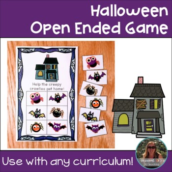 Halloween Open Ended Game Board