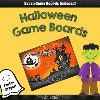 Halloween Open-Ended Game Boards