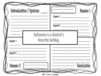Halloween Opinion / Argument Writing - 15 Prompts for the Middle Grades