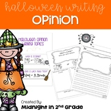 Halloween Opinion Writing