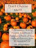 Pumpkin Writing - Distance Learning