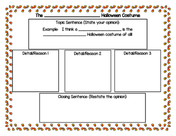 Halloween Opinion Writing Prompts