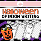 Halloween Opinion Writing Templates
