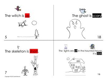 Halloween Opposites Book