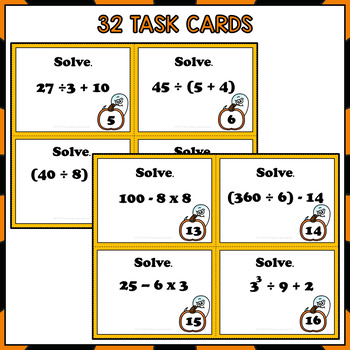 Halloween Order of Operations