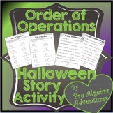 Halloween Order of Operations {Distance Learning} {Hallowe