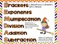 Halloween Order of Operations Task Cards