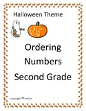 Halloween Ordering Numbers -Least to Greatest and Greatest to Least