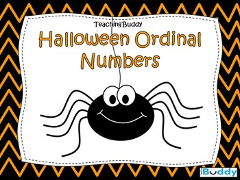 Halloween Ordinal Numbers