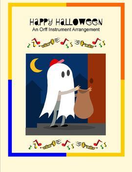 Halloween Orff Instrument Arrangement