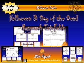 Halloween Origins Research Tri-Folds & Activities