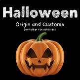 Halloween: Origins and Activities
