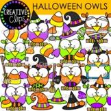 Halloween Owl Clipart {Halloween Clipart}
