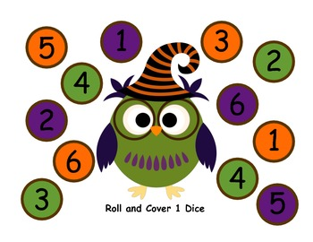 Halloween Owl Math and Literacy Activities and Games
