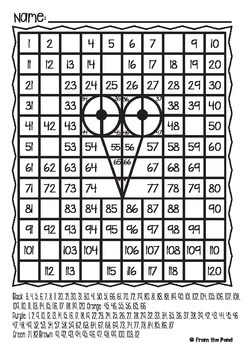 Halloween Owl Mystery Picture - 120 Chart Worksheet