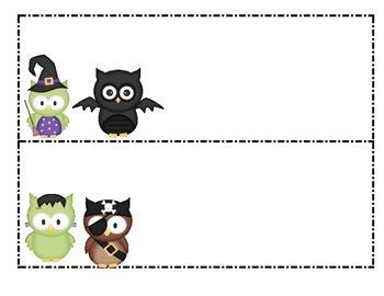 Halloween Owl Patterns