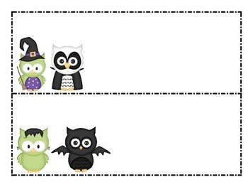 Halloween Owl Patterns