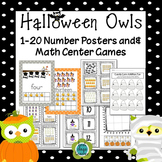 Halloween Owls & Candy Corn Math Fun for K-1