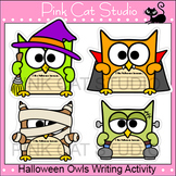 Halloween Writing Cut-Outs - Halloween Activities: Zombie,
