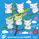 Owl Clipart, Halloween Owls reunion clipart, commercial us