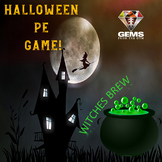 Halloween PE Game - Witches' Brew!