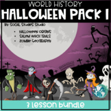 Halloween Pack 1:  3 Lessons! No Pre! 3 Weeks of Content