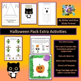 Halloween Pack Extras!  Roll a Jack O' Lantern Game, Black Cat Parts, and More!