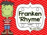 Halloween Pack { Franken Rhyme Center and October Teaching Pack }