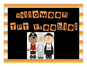 Halloween Pack Freebie