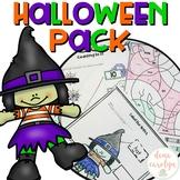 Halloween Pack {ELA and Math} {Print and Go}
