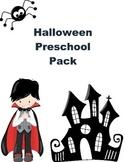 Halloween Pack for Preschoolers