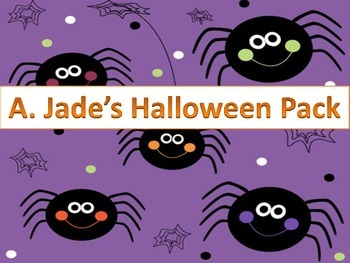 Fun Fall Festivities Halloween Packet-Games, Writing Prompts and More!!!